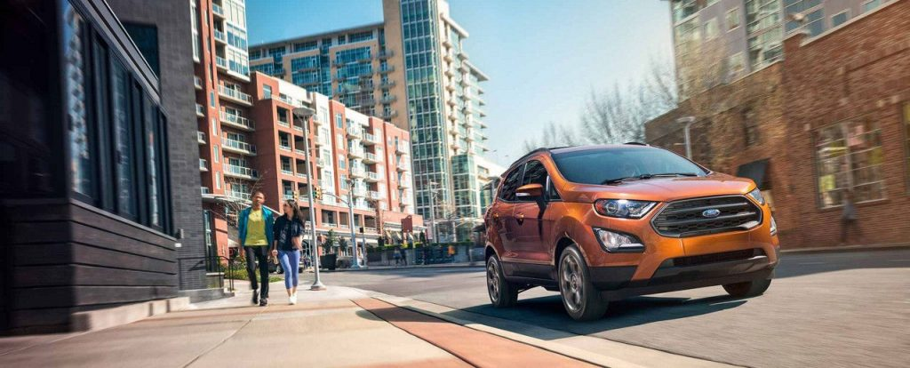 Ford EcoSport Now Available in Canada spring 2018